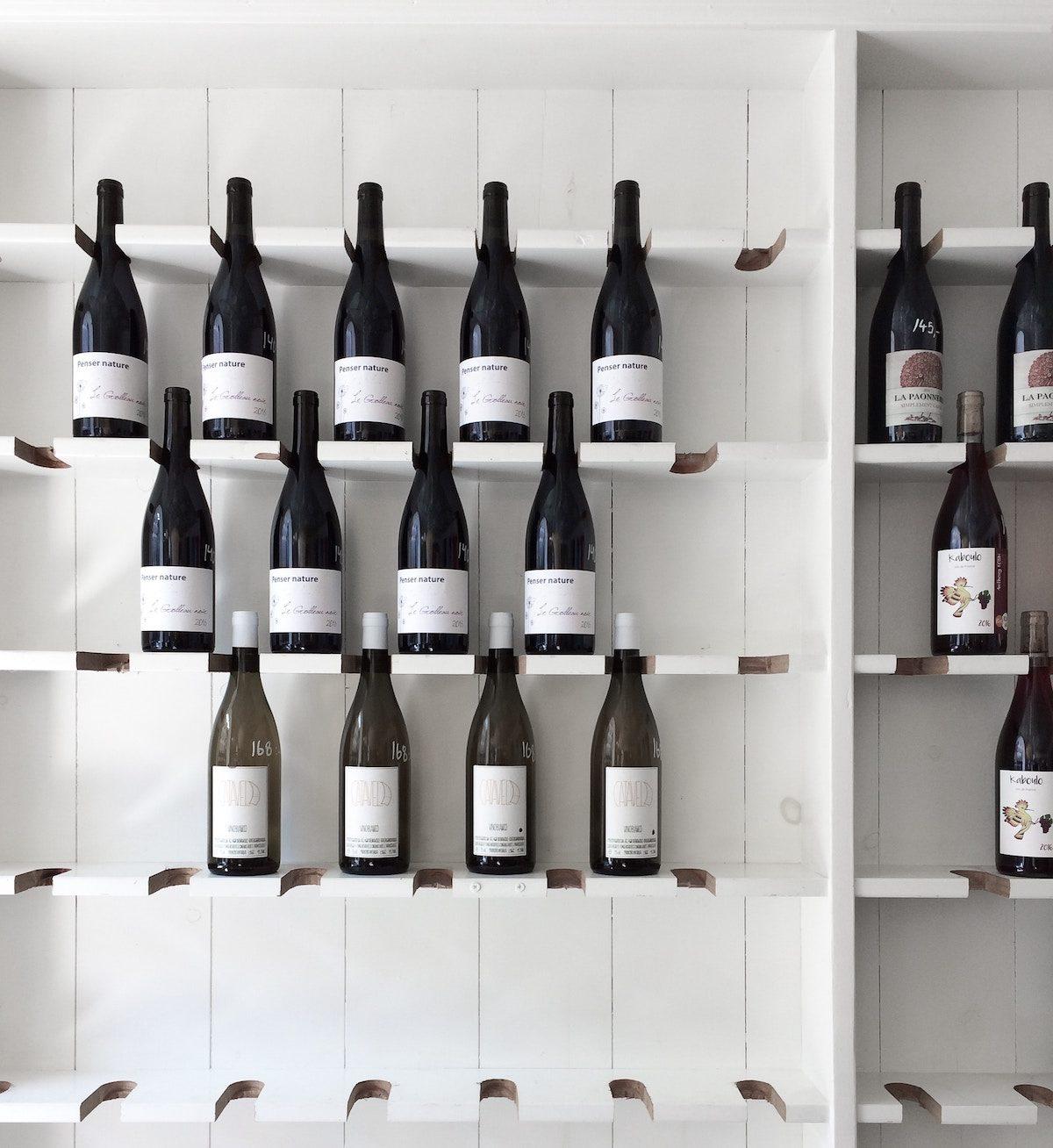 Wein und Weinlagerung